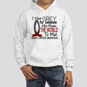 Means World To Me 1 Brain Cancer Shirts Hooded Swe