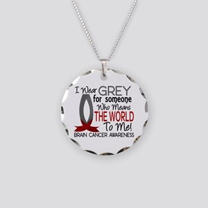 Means World To Me 1 Brain Cancer Shirts Necklace C