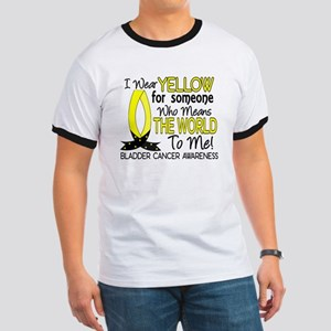 Means World To Me 1 Bladder Cancer Shirts Ringer T