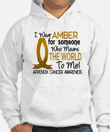Means World To Me 1 Appendix Cancer Shirts Jumper Hoody