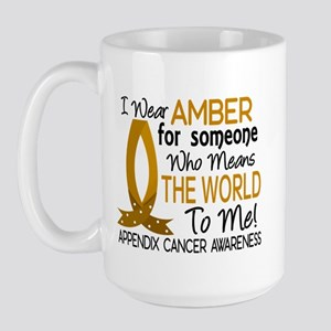 Means World To Me 1 Appendix Cancer Shirts Large M