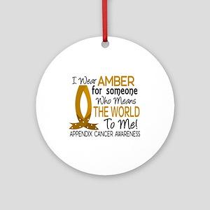 Means World To Me 1 Appendix Cancer Shirts Ornamen