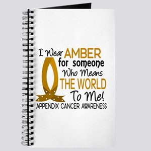Means World To Me 1 Appendix Cancer Shirts Journal