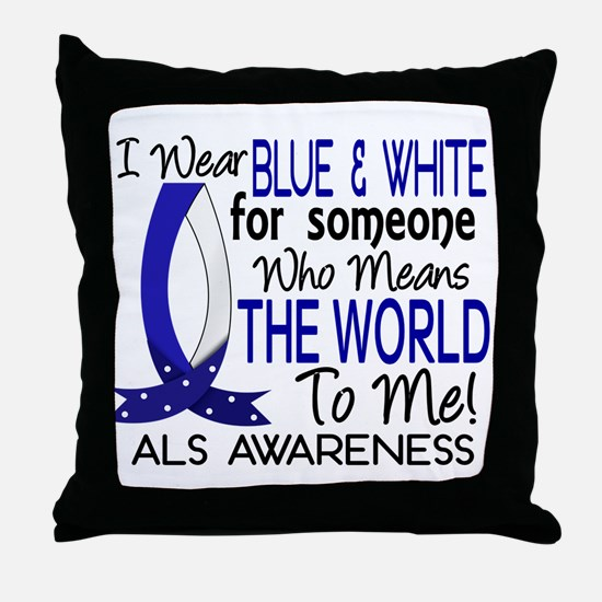 Means World To Me 1 ALS Shirts Throw Pillow