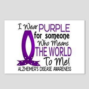 Means World To Me 1 Alzheimer's Disease Shirts Pos