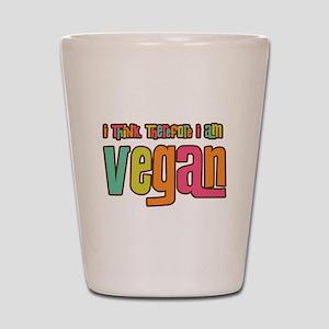 Think Vegan Shot Glass