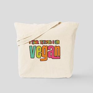 Think Vegan Tote Bag