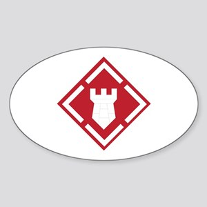 SSI - 20th Engineer Brigade Sticker (Oval)
