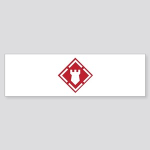 SSI - 20th Engineer Brigade Sticker (Bumper)