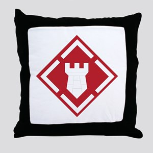 SSI - 20th Engineer Brigade Throw Pillow
