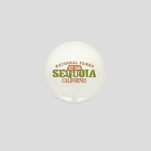 Sequoia National Park CA Mini Button