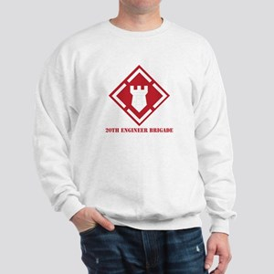 SSI - 20th Engineer Brigade with Text Sweatshirt