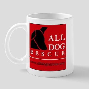 ADR black dog Mugs