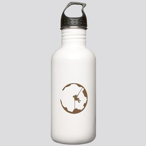 A Climber's World Stainless Water Bottle 1.0L