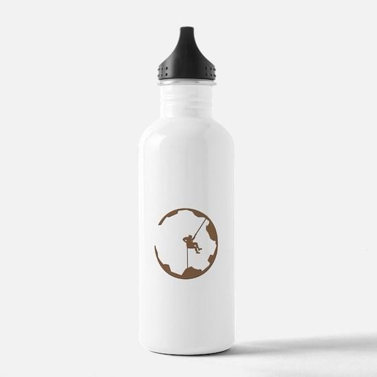A Climber's World Water Bottle