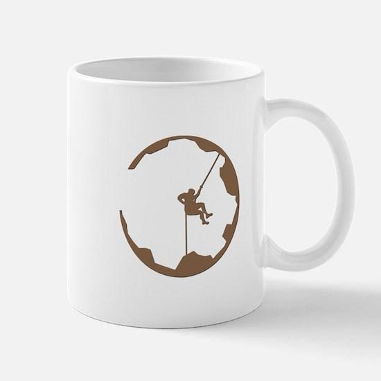 A Climber's World Mug