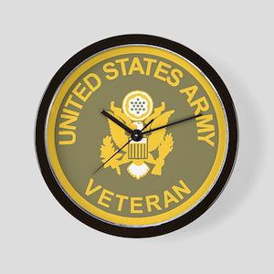 Army Veteran Wall Clock