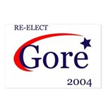 RE-ELECT GORE Postcards (Package of 8)
