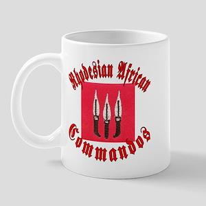 Rhodesia Commandos Mug
