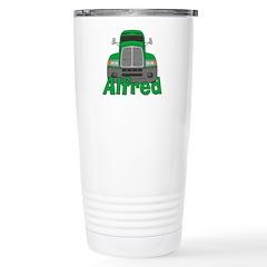 Trucker Alfred Stainless Steel Travel Mug