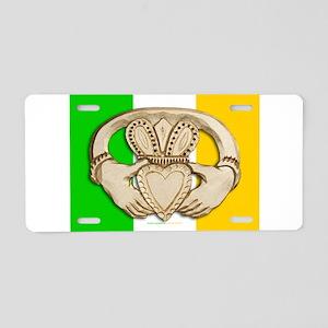 Irish Claddagh Aluminum License Plate