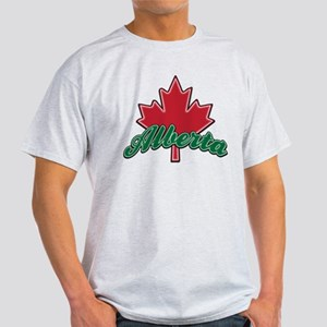 Alberta Maple Leaf Light T-Shirt