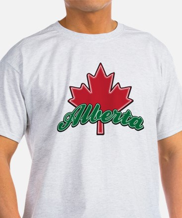 Alberta Maple Leaf T-Shirt