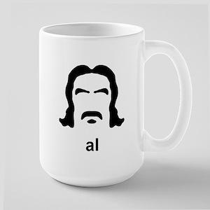 Al Swearengen Black Hirsute Large Mug