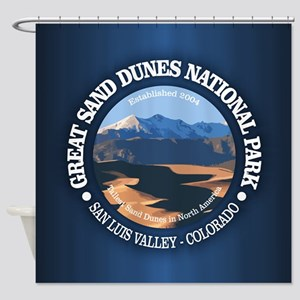 Great Sand Dunes NP Shower Curtain