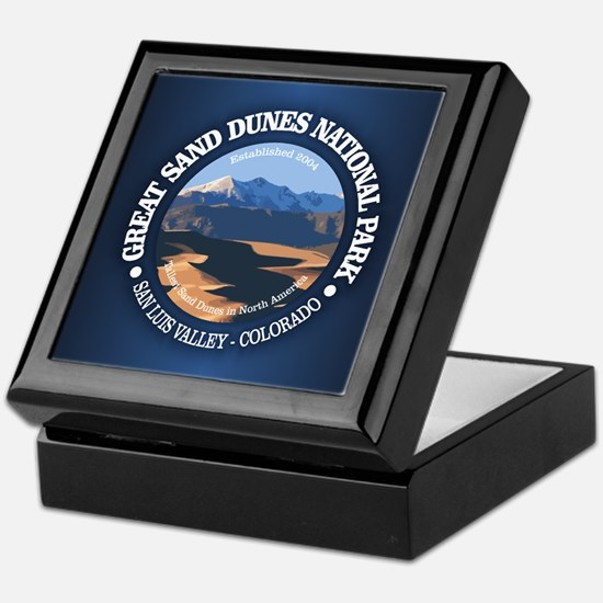 Great Sand Dunes NP Keepsake Box