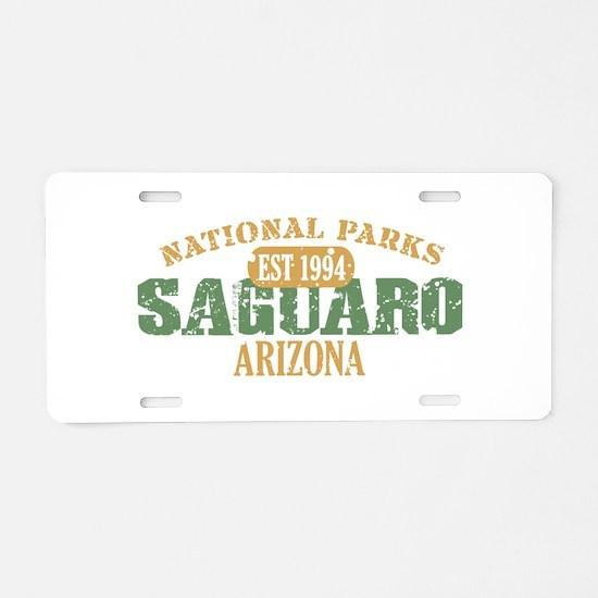 Saguaro National Park Arizona Aluminum License Pla