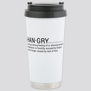 Stainless Steel Travel Hangry Mug