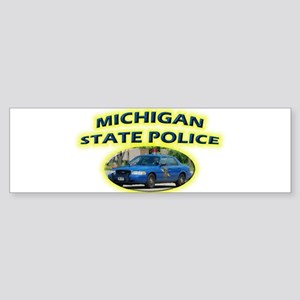 Michigan State Police Sticker (Bumper)
