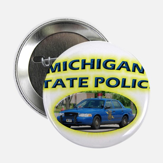 """Michigan State Police 2.25"""" Button (100 pack)"""