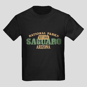 Saguaro National Park Arizona Kids Dark T-Shirt