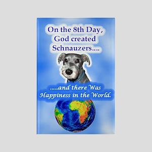 3-8th Day -Schnauzer Magnets