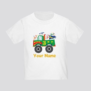 Personalized 3rd Birthday Monster Truck Toddler T-