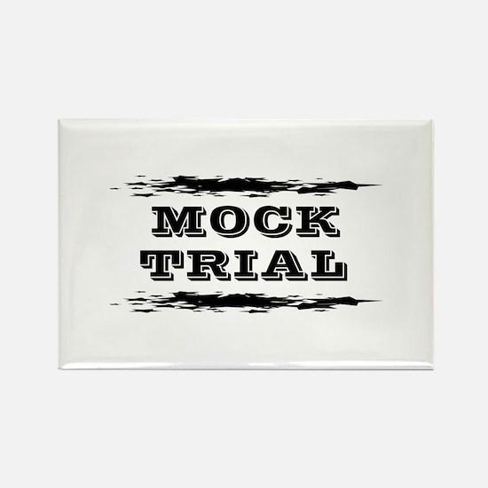 Mock Trial Rectangle Magnet