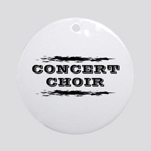Concert Choir Ornament (Round)