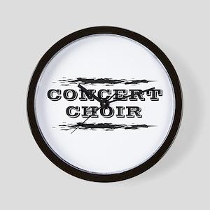 Concert Choir Wall Clock