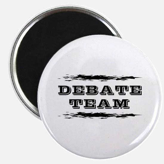 """Debate Team 2.25"""" Magnet (10 pack)"""