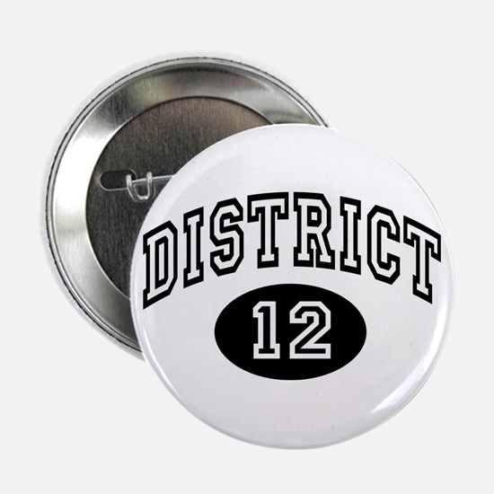 """Hunger Games District 12 2.25"""" Button"""