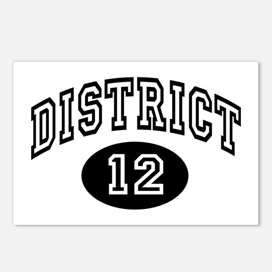 Hunger Games District 12 Postcards (Package of 8)