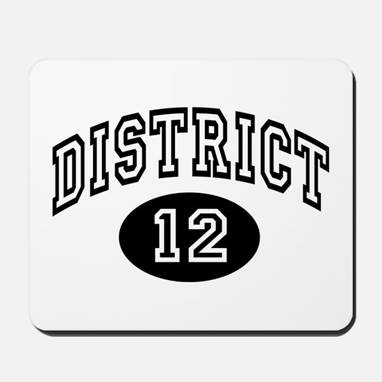 Hunger Games District 12 Mousepad