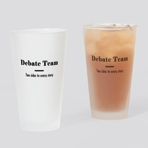 Debate Team Pint Glass