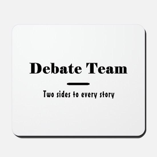 Debate Team Mousepad