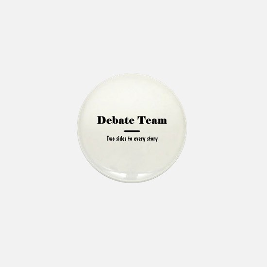 Debate Team Mini Button