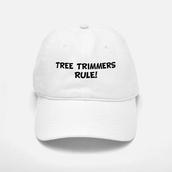 TREE TRIMMERS Rule! Baseball Baseball Cap