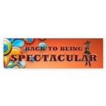 Spectacular Girl Sticker (Bumper)