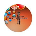 Spectacular Girl Ornament (round)